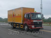 Duoshixing JHW5160XRYAC flammable liquid transport van truck