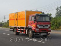 Duoshixing JHW5160XRYZ flammable liquid transport van truck
