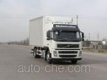 沃尔沃(VOLVO)牌JHW5170D56C1X型厢式运输车
