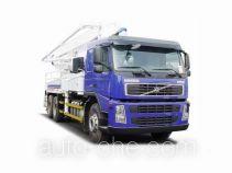 沃尔沃(VOLVO)牌JHW5340THBF49B4型混凝土泵车