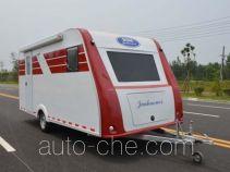 多士星牌JHW9020XLJ型旅居挂车