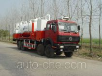 Oil well sand washing truck