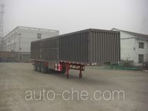 Fuyunxiang JJT9326XXY box body van trailer