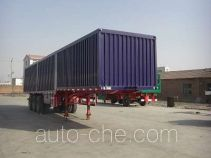 Fuyunxiang JJT9404XXY box body van trailer