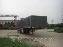Fuyunxiang JJT9406XXY box body van trailer
