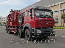 Haizhida JJY5280TLG coil tubing truck