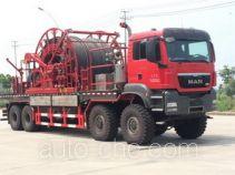 Haizhida JJY5552TLG coil tubing truck