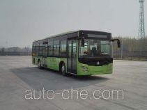 黄河牌JK6129GPHEVN5型混合动力城市客车