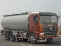 Kuangshan JKQ5250GXH pneumatic discharging bulk cement truck