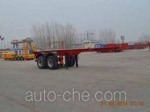 Guangtongda JKQ9351TJZ container transport trailer