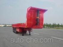匡山牌JKQ9400TZX型自卸半挂车
