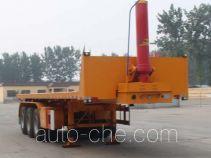 Guangtongda JKQ9405ZZXP flatbed dump trailer