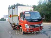 Tuoma JLC5049XQY-1 explosives transport truck