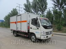 Tuoma JLC5049XRQ flammable gas transport van truck