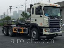 Jinqi JLL5251ZXXE5 detachable body garbage truck