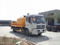 Lantian JLT5121THB truck mounted concrete pump
