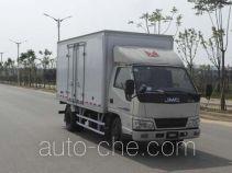 Jiangling Jiangte JMT5040XXYXGD2 box van truck