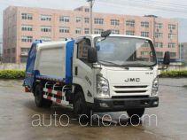 Jiangling Jiangte JMT5081ZYSXG2 garbage compactor truck