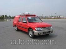 晶马牌JMV5023TXFBP01型泵浦消防车
