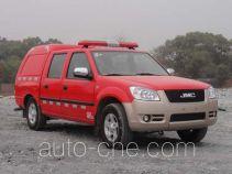 晶马牌JMV5025TXFBP01型泵浦消防车