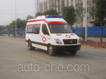 晶马牌JMV5040XJH型救护车