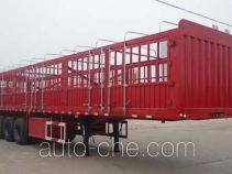 晶马牌JMV9400CCYA型仓栅式运输半挂车