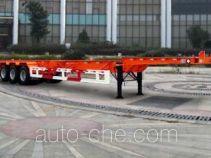 晶马牌JMV9400TJZA型集装箱运输半挂车