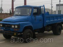 华通牌JN4010CDA型自卸低速货车
