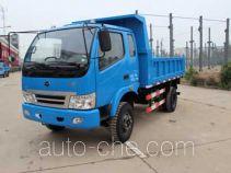 华通牌JN4010PD2型自卸低速货车