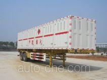 Jiangnan JNJ9350GRQ flammable gas tank trailer