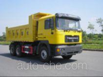 青年曼牌JNP3251FD19型自卸汽车