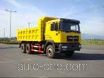 青年曼牌JNP3253FD19型自卸汽车