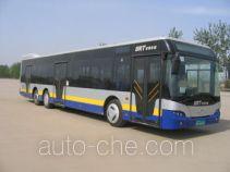 青年牌JNP6137G型豪华城市客车
