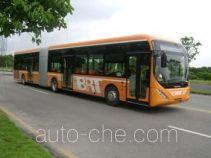 青年牌JNP6182LPG型豪华城市客车