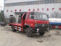楚疆牌JPY5160TPBE型平板运输车