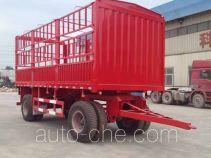 Junqiang JQ9200CCY stake drawbar trailer