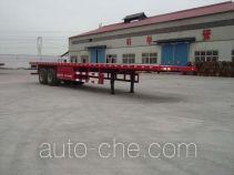 Junqiang JQ9350TJZP container transport trailer