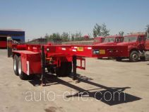 Junqiang JQ9351TJZ container transport trailer