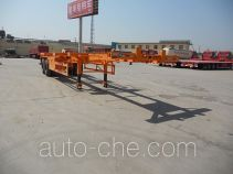 Junqiang JQ9352TJZ container transport trailer