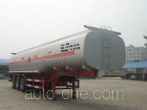 Junqiang JQ9400GFW corrosive materials transport tank trailer