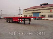 骏强牌JQ9400TJZP型集装箱运输半挂车
