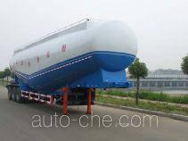 骏强牌JQ9402GFL型低密度粉粒物料运输半挂车