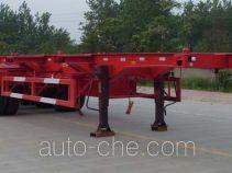 骏强牌JQ9405TJZ型集装箱运输半挂车