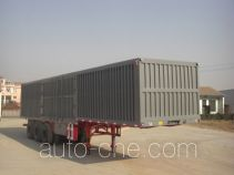 Junqiang JQ9404XXY box body van trailer
