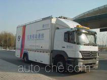 济南萨博特种汽车有限公司制造的应急通信车