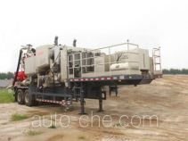 Cementing trailer