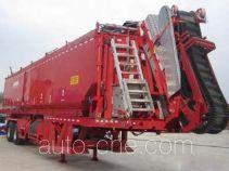 Sand sediment oilfield trailer