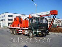 吉石牌JS5210TCYC20型前置式采油车