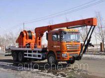 吉石牌JS5221TCY型采油车