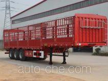 鲁嘉牌JSF9400CCYE型仓栅式运输半挂车